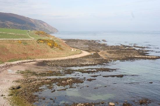 Helmsdale Beach Showing Coastal Path